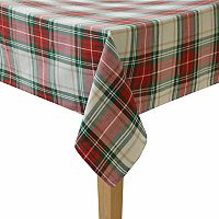 Casual Plaid Tablecloth
