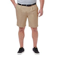 Big & Tall Haggar Haggar® Cool 18® PRO Straight-Fit Pleated Shorts