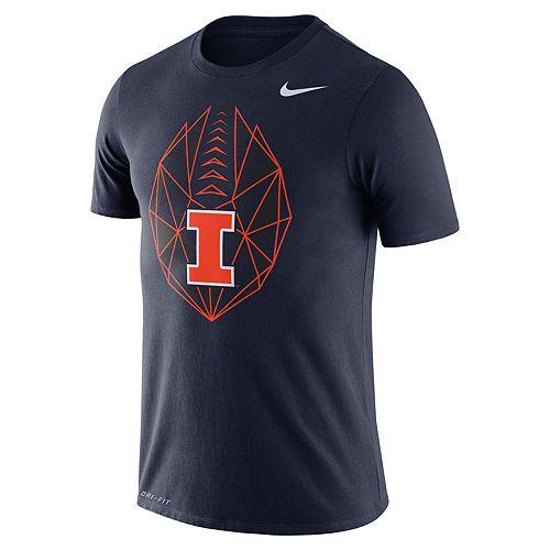 Men's Nike Illinois Fighting Illini Football Icon Tee