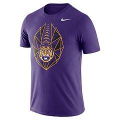 Men's Nike LSU Tigers Football Icon Tee