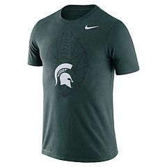 Men's Nike Michigan State Spartans Football Icon Tee