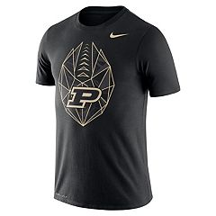 Men's Nike Purdue Boilermakers Football Icon Tee