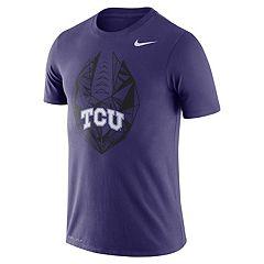 Men's Nike TCU Horned Frogs Football Icon Tee