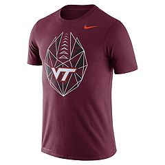 Men's Nike Virginia Tech Hokies Football Icon Tee