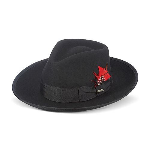 Men's Scala Wool Felt Fedora