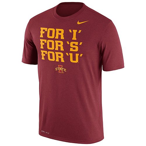 Men's Nike Iowa State Cyclones Authentic Legend Tee