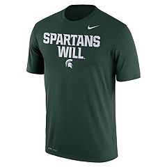 Men's Nike Michigan State Spartans Authentic Legend Tee