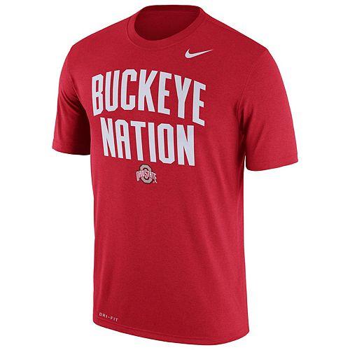 Men's Nike Ohio State Buckeyes Authentic Legend Tee