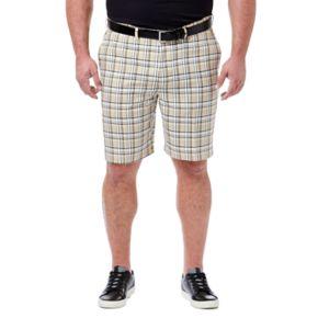 Big & Tall Haggar® Cool 18® Windowpane Performance Shorts
