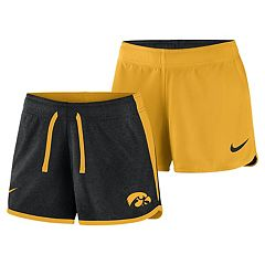 Women's Nike Iowa Hawkeyes Dri-FIT Touch Shorts