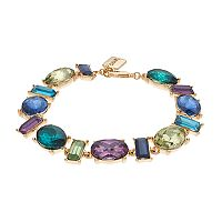 Chaps Nickel Free Simulated Gemstone Bracelet