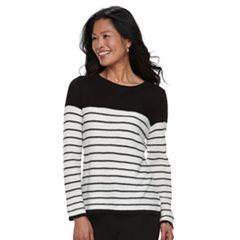 Women's Croft & Barrow® Cozy Crewneck Sweater