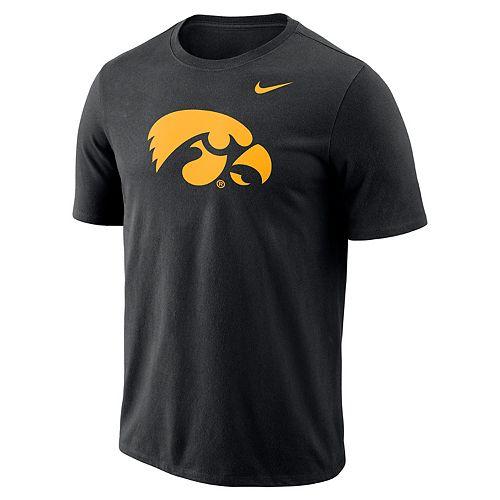 Men's Nike Iowa Hawkeyes Logo Tee