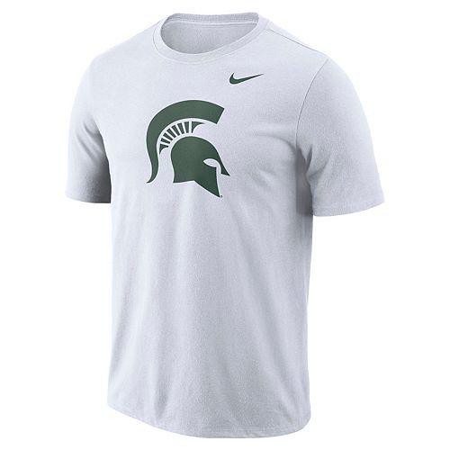 Men's Nike Michigan State Spartans Logo Tee