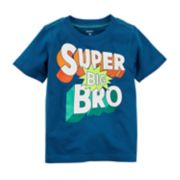 "Boys 4-8 Carter's ""Super Big Bro"" Graphic Tee"