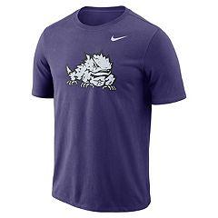 Men's Nike TCU Horned Frogs Logo Tee