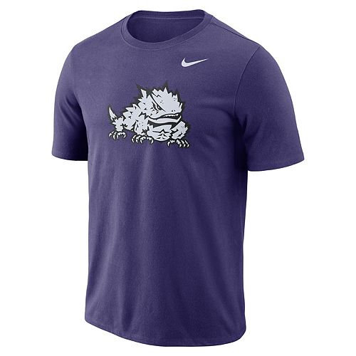 Men's Nike TCU Horned Frogs Logo Tee