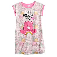 Girls 4-10 Care Bears Cheer Bear