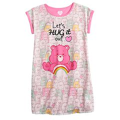 Girls 4-10 Care Bears Cheer Bear 'Let's Hug it Out' Nightgown