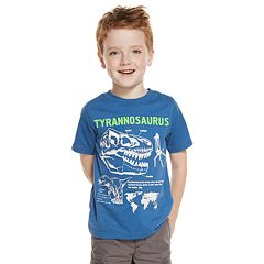 Boys 4-8 Carter's Dinosaur 'T-Rex' Skeleton Short Sleeve Graphic Tee
