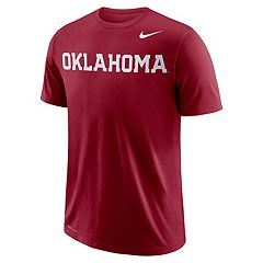 Men's Nike Dri-FIT Oklahoma Sooners Wordmark Tee