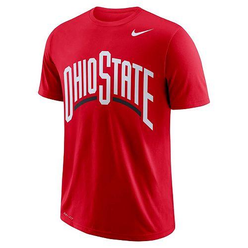 Men's Nike Ohio State Buckeyes Wordmark Tee