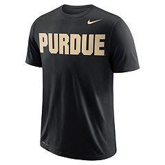 Men's Nike Purdue Boilermakers Wordmark Tee