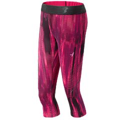 Women's New Balance Lace Up Accelerate Capri Leggings