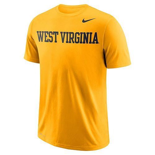 Men's Nike West Virginia Mountaineers Wordmark Tee