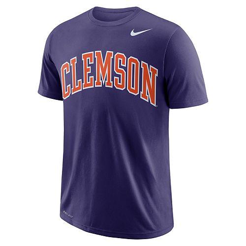 Men's Nike Clemson Tigers Wordmark Tee