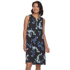 Women's Croft & Barrow® Sleeveless Shift Dress
