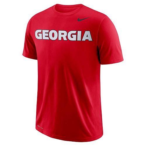 Men's Nike Georgia Bulldogs Wordmark Tee