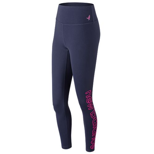 Women's New Balance Lace Up For The Cure Transform High-Waisted Tights