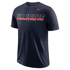 Men's Nike Illinois Fighting Illini Wordmark Tee