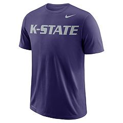 Men's Nike Kansas State Wildcats Wordmark Tee