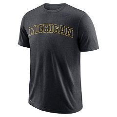 Men's Nike Michigan Wolverines Wordmark Tee