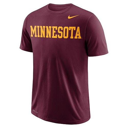 Men's Nike Minnesota Golden Gophers Wordmark Tee