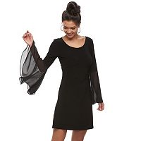 Women's MSK Strappy Chiffon Shift Dress
