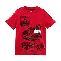 Boys 4-8 Carter's Fire Truck Graphic Tee