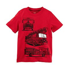 Boys 4-8 Carter's Fire Truck Graphic Tee