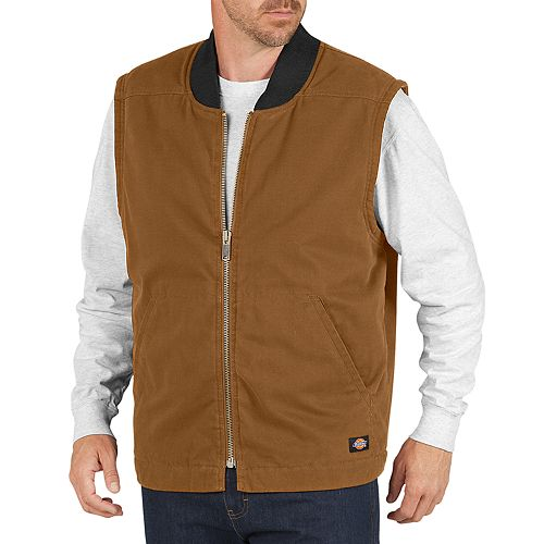 Men's Dickies Sanded Duck Insulated Vest