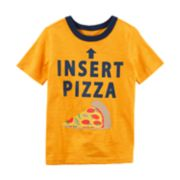 Boys 4-8 Carter's Pizza Graphic Tee