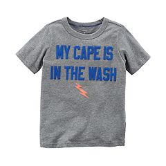Boys 4-8 Carter's 'My Cape Is In The Wash' Graphic Tee