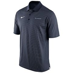 Men's Nike BYU Cougars Striped Stadium Dri-FIT Performance Polo