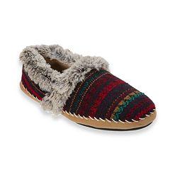 Women's Dearfoams A-Line Knit Slippers