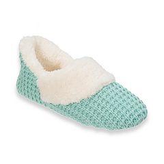 Women's Dearfoams Sweater Knit Slippers