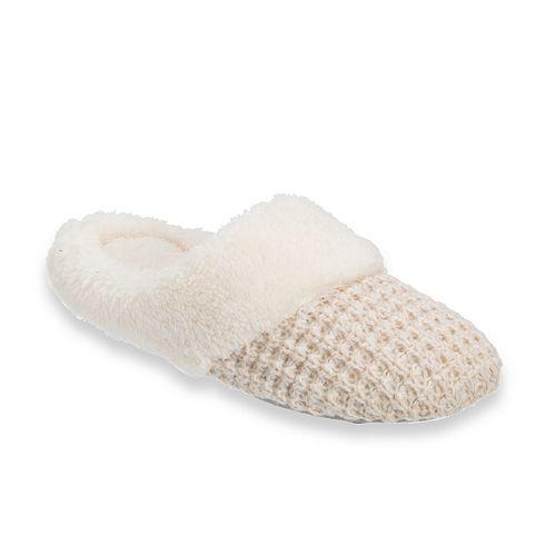 Women's Dearfoams Sweater Knit ... Scuff Slippers xleOMCA