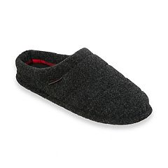 Men's Dearfoams Quilted Clog Slippers