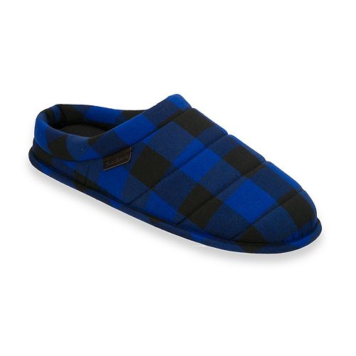 Dearfoams Mens Quilted Clog Slipper