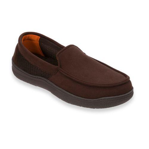 Men's Dearfoams Microfiber ... Moccasin Slippers